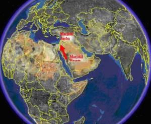 Lokasi Israk Mi'raj