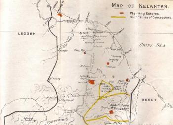 Peta Kelantan Lama