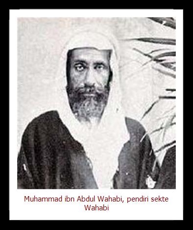 Pengasas Fahaman Wahabi